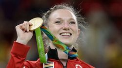 Rosie MacLennan Soars To Gold On