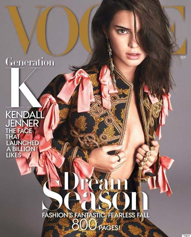 Kendall Jenner Graces The Cover Of Vogue's Coveted September