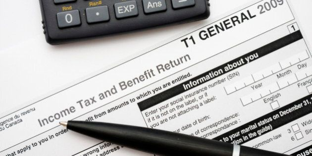 Filling in canadian tax