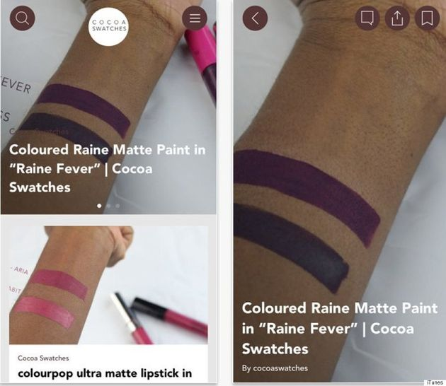 Beauty Blogger Ofunne Amaka Creates 'Cocoa Swatches' App To Help Women Of Colour Find That Perfect