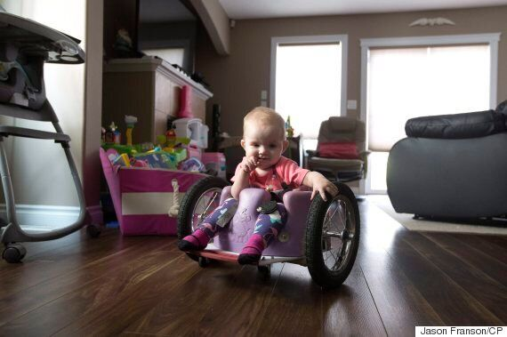 Edmonton Parents Build Homemade Wheelchair For Their