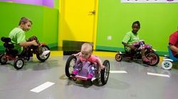 Toddler Is A Speed Demon In Homemade