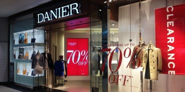 TORONTO, ON - JULY 21: Danier Leather is not doing well financially and there is speculation that it...