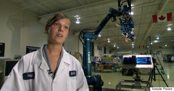 Rocket Scientist Natalie Panek Wants To Go To Space. And Take More Women With