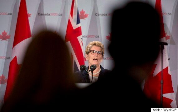 Kathleen Wynne Defends $6,000-A-Head Fundraising