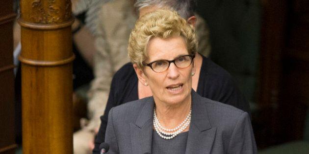 TORONTO, ON - JUNE 24 - Premier Wynee swears in. Ontario Premier Kathleen Wynne and her cabinet were...