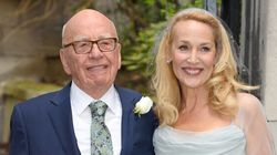 Jerry Hall Marries Rupert Murdoch Wearing Vivienne Westwood