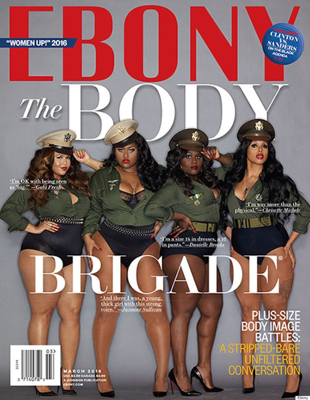 GabiFresh, Danielle Brooks, Jazmine Sullivan And Chrisette Michele Cover Ebony's March 2016