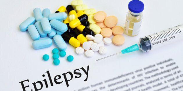 Syringe with drugs for epilepsy