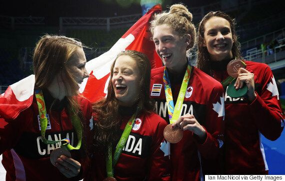 Canadian Women Win Bronze In 4x200-Metre Relay At