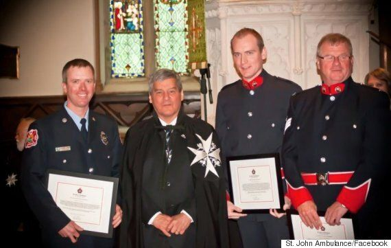 Kevin Vickers' Son, Const. Andrew Vickers, Is A Hero Just Like His