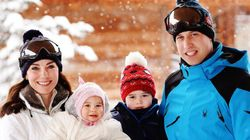 Prince George And Princess Charlotte See Snow For The First