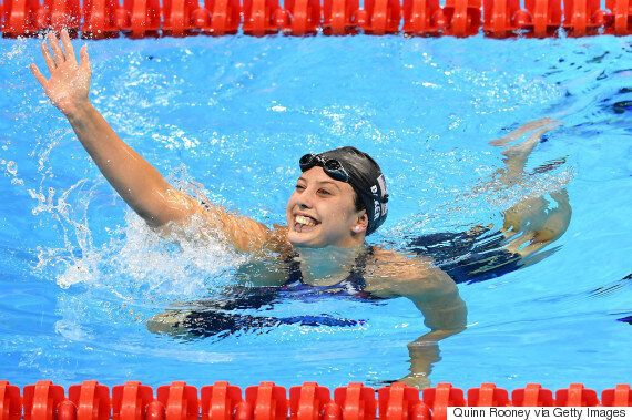 Swimmer Kathleen Baker Lost Pearl Earring In Pool; Diver Saves