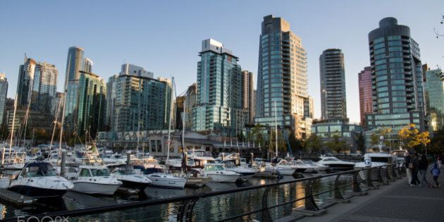 Waterfront in Vancouver,