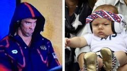 OK, Boomer Phelps' Game Face Is Even Better Than His