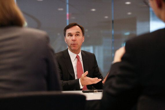 Bill Morneau: Lack Of Global Economic Growth A 'Real Challenge' For