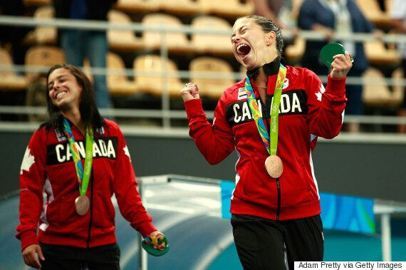 Divers Roseline Filion And Meaghan Benfeito Win Another Bronze For