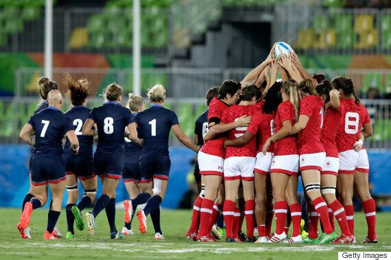 Canada Claims Bronze In Women's Rugby Sevens Over Great