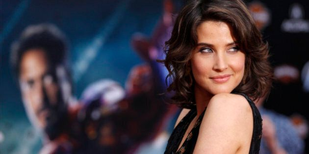 Cast member Cobie Smulders poses at the world premiere of the