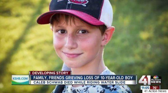 Caleb Thomas Schwab, Kansas Politician's Son, Dies On World's Tallest Water