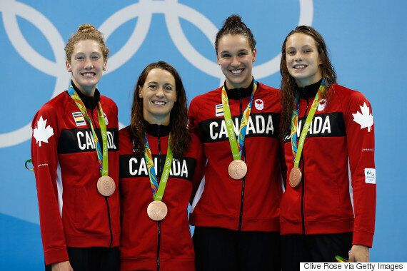 Sandrine Mainville, Canadian Bronze Medallist, Surprised By Proud Parents In