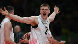 Canada Stuns U.S. In Men's Volleyball
