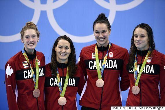 Rio Olympics 2016: Canada Wins Bronze In Women's 4x100-Metre Freestyle