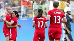 Canada's Women's Soccer Team Dominates Zimbabwe In Second