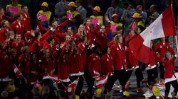 Team Canada Looked Red-Hot At The Olympic Opening
