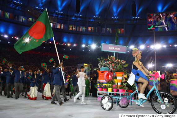 Rio Olympics Opening Ceremony Bikes Were Straight Up