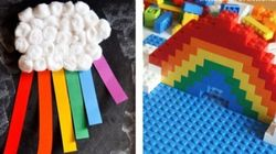 Rainbow Crafts To Make Your House Feel Like