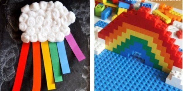 Rainbow Crafts To Fill Your House With