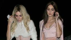 Kendall And Gigi's Pink Outfits Top Our Best Dressed List This