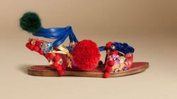Somehow Dolce And Gabbana Thought Selling A 'Slave Sandal' Was