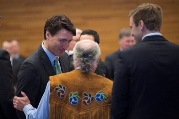Trudeau Meets With Aboriginal Leaders To Discuss Climate