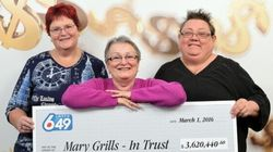 B.C. Trio Win Millions After Using Same Lotto Numbers For 22