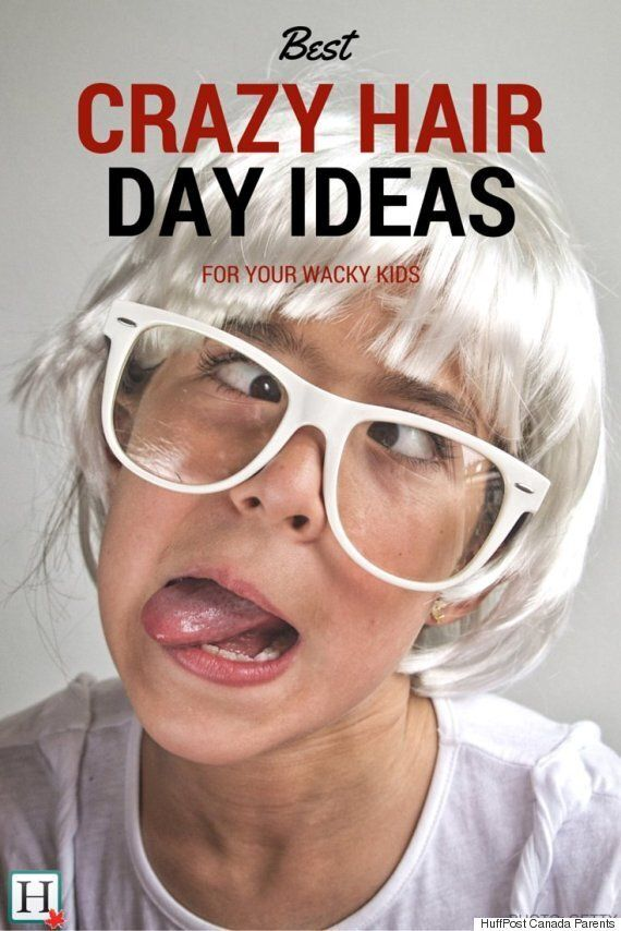 Crazy Hair Day Ideas: Wacky 'Dos For Your Wacky