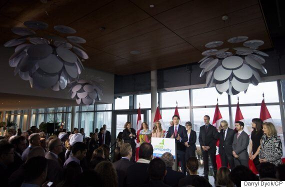 Prime Minister Justin Trudeau Helps Launch Smart Prosperity In