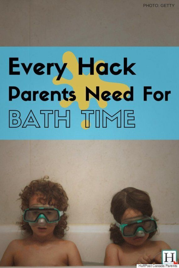 Bath-Time Hacks On The Cheap And