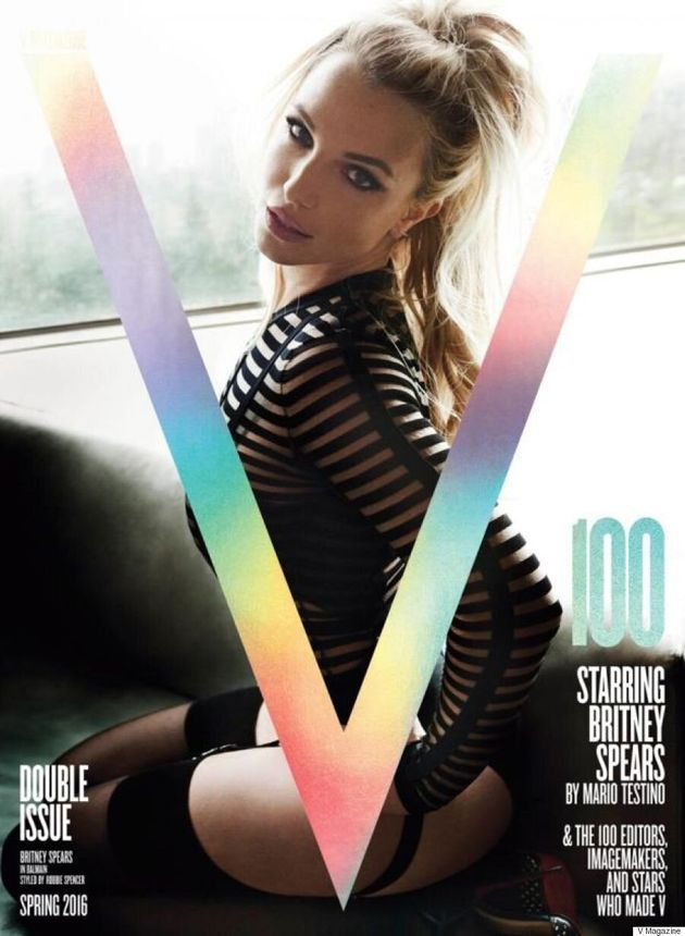 Britney Spears Covers V Magazine's 100th Issue And Looks Like She's Straight Out Of