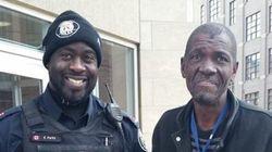 Toronto Cop Notices Diabetic Homeless Man, Buys Him