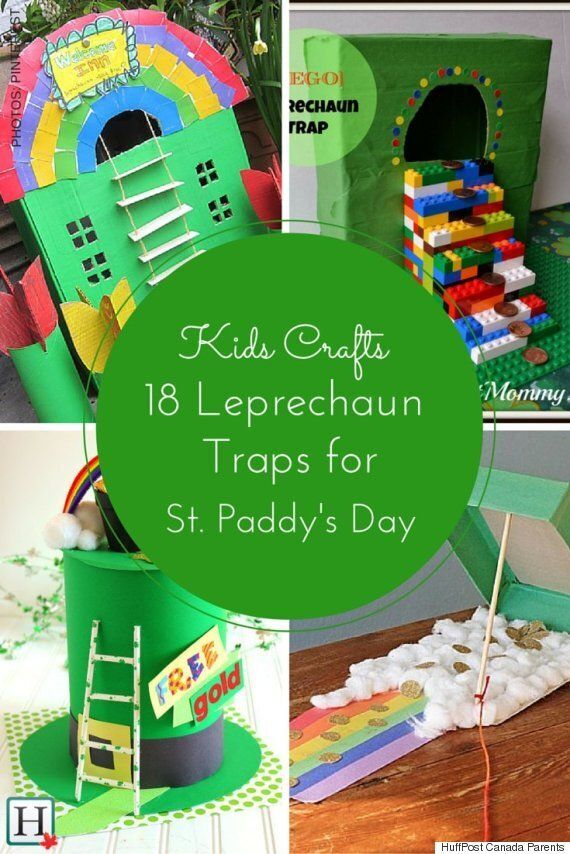 Leprechaun Traps To Capture Your Kids'