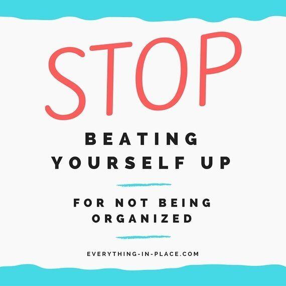 Stop Beating Yourself Up For Not Being