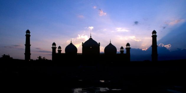 The Badshahi Mosque, or the 'Emperor's Mosque', in Lahore is the second largest mosque in Pakistan and...