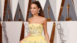 Get Alicia Vikander's Louis Vuitton Oscars Gown On Your