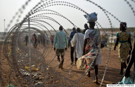 South Sudan Violence Prompts 60,000 People To Flee The Country:
