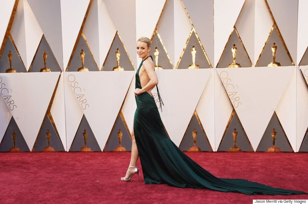 Rachel McAdams Oscars 2016: Canada's Sweetheart Dazzles In Emerald August Getty Atelier
