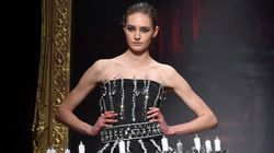 Moschino's Chandelier Gown Is Perfect For