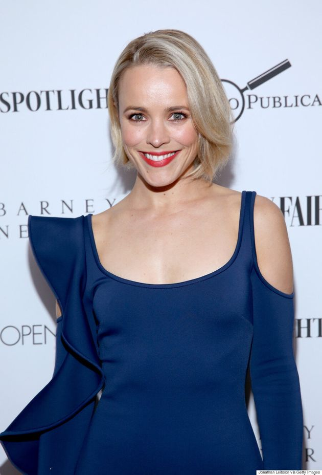 Rachel McAdams Goes Platinum Blond Just In Time For The 2016
