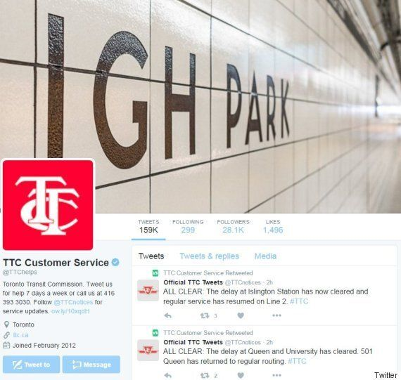 Toronto Transit Commission Twitter Abuse Needs More Action Than What They've Done: